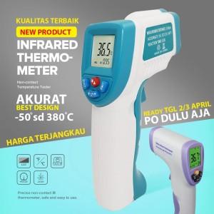 Thermometer Infrared Gun termometer Digital virus corona Suhu Badan