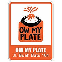 Ow My Plate Bandung