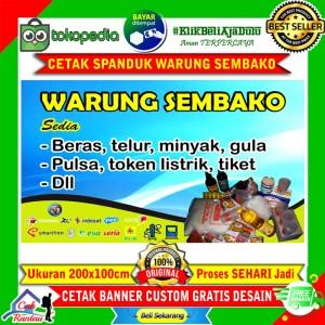 Banner Warung Sembako Cdr - Best Banner Design 2018