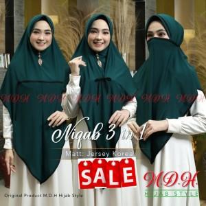 Jual Hijab Instan Niqab Masker Jersey Premium Dusty Pink Jakarta Timur Mdh Hijab Style Tokopedia