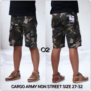 Celana Cargo Army Non Strect