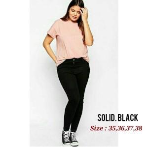 Celana Soft Jeans Jumbo 35-38