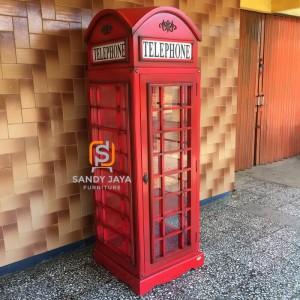Order ibu maika lemari telephone box, sofa prancis, meja tamu london