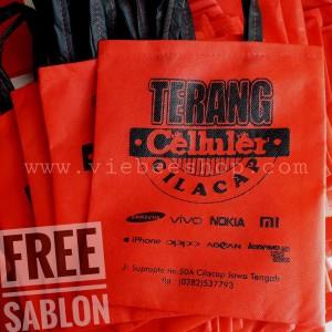 Tas souvenir perusahaan I Tas promosi toko I Tas Olshop l F20.25