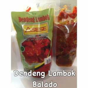 Dendeng Lambok 1/4kg