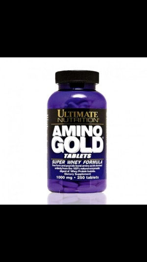 Ultimate Nutrition Amino Gold 250 tablets Suplemen Fitness