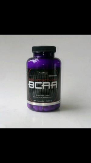 Ultimate Nutrition BCAA 500mg 120 capsules Suplemen Fitness