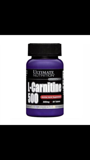 Ultimate Nutrition L-Carnitine 500mg 60 tablets Suplemen Fitness