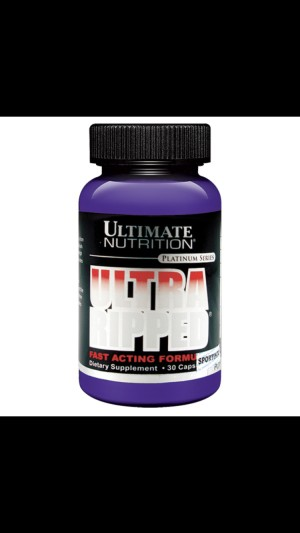Ultimate Nutrition Ultra Ripped FAF 30 capsules Suplemen Fitness