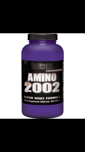 Ultimate Nutrition Amino 2002 330 tablets Suplemen Fitness