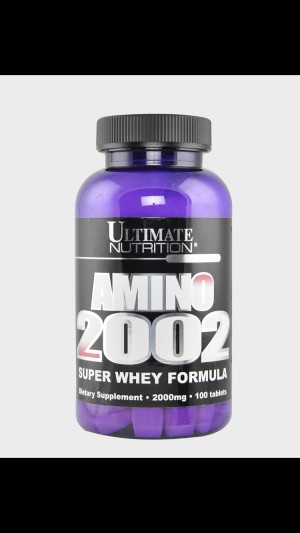 Ultimate Nutrition Amino 2002 100 tablets Suplemen Fitness