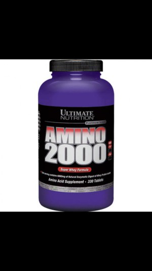 Ultimate Nutrition Amino 2000 330 tablets Suplemen Fitness