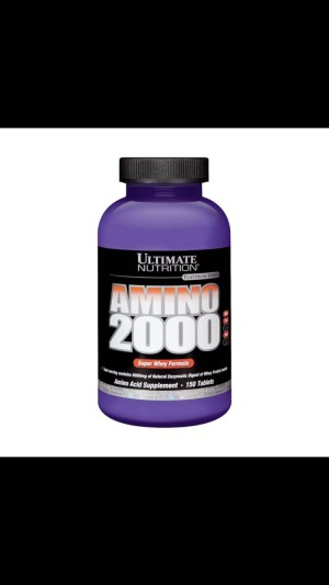 Ultimate Nutrition Amino 2000 150 tablets Suplemen Fitness