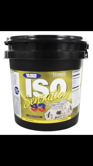 Ultimate Nutrition Iso Sensation-93 5 lbs