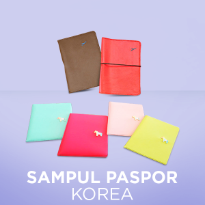 Korean Passport Cover