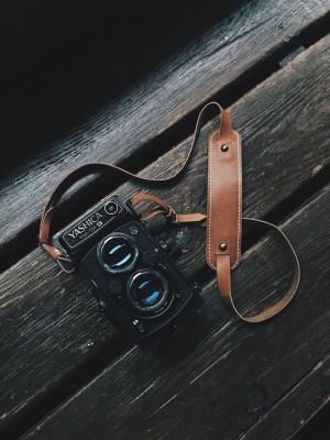 Lulu Adjustable Leather Neckstrap