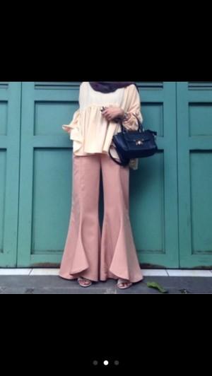 Flare blogger pants