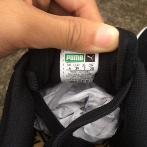 Puma Suede Black Gold