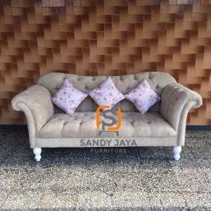 Sofa chesterfield rivoly - sofa santai keluarga - bangku kursi