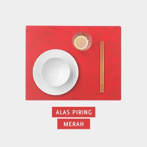 Alas Piring Merah