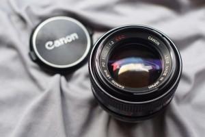 Lensa Manual - Canon FD 50mm F/1.2 SSC