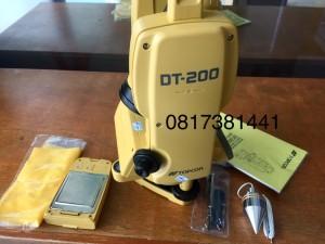 Topcon DT 209 Theodolite