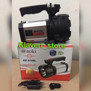 Senter jumbo LED halogen AK-8100L