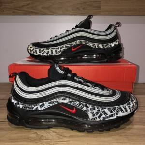 Nike Air Max 97 All Over Print Black Red Nike Graphic Reflective