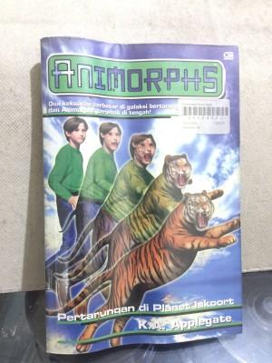 Novel Animorphs no 26:Pertarungan di Planet Iskoort; K A Applegate; GM
