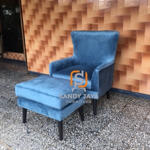 Sofa set scandinavian, sofa santai, sofa kursi empuk, bangku sofa