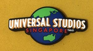 Magnet Kulkas Logo Universal Studio Singapore Hitam