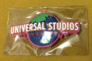 Magnet Kulkas Logo Universal Studio Singapore Pink