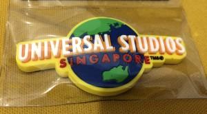 Magnet Kulkas Logo Universal Studio Singapore Kuning