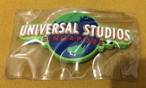 Magnet Kulkas Logo Universal Studio Singapore Hijau