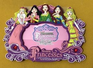 Bingkai/Frame Foto Shrek Princesses Universal Studio Singapore