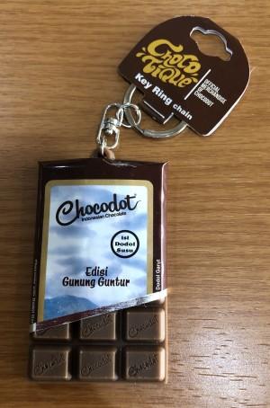 Gantungan Kunci Coklat Chocodot - Gunung Guntur
