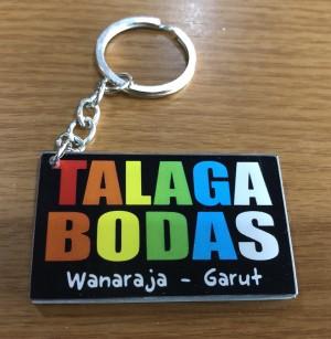 Gantungan Kunci Talaga Bodas - kotak