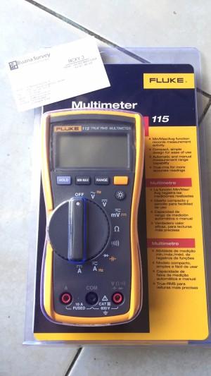 Fluke 115 Multimeter Digital