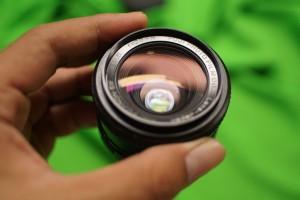 Lensa Manual - EBC Fujinon SW 28mm F/3.5 M42 Lens