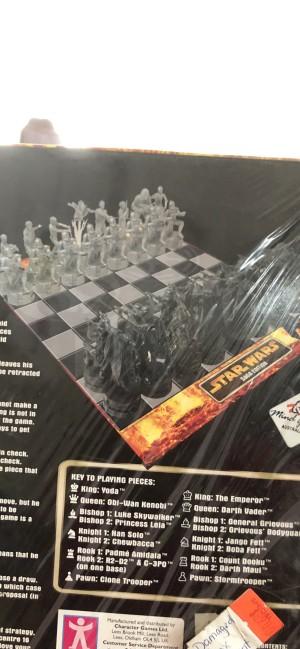 Cake decorations Star Wars Chess set spare Figures Saga Edition