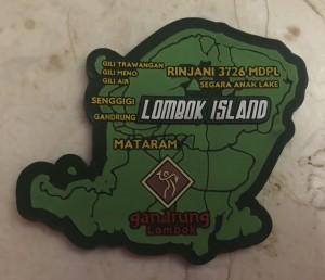 Magnet Kulkas Pulau Lombok