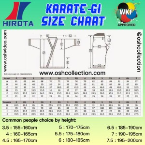 Jual Baju Karate Hirota Tsubasa (WKF Approved) untuk Kumite Size 4 5 -  Jakarta Pusat - OSH Collection   Tokopedia