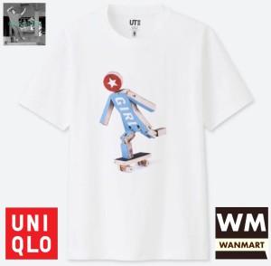Jual UNIQLO Men UT T-Shirt Kaos Pria Grafis Girl Skateboards White - Kota  Depok - WAN-MART | Tokopedia