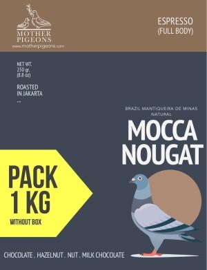MOCCA NOUGAT (Brazil Mantiquieira de Minas Natural) 1 Kg PACK!