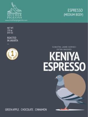 KENIYA ESPRESSO (Sumatra Keniya Extra Washed)