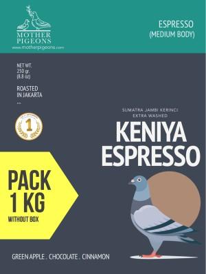 KENIYA ESPRESSO (Sumatra Keniya Extra Washed) 1 Kg Pack!