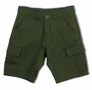 Croooz Green Chono Cargo Short