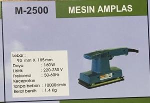 Mesin amplas M-2500 modern