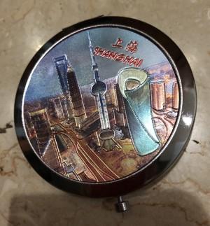 Cermin Lipat Shanghai biru