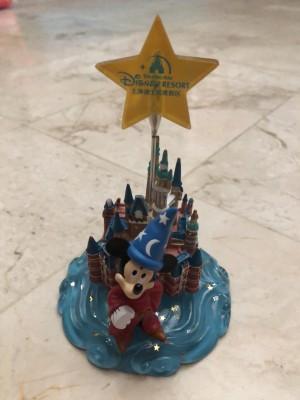 Pajangan meja penjepit kertas Mickey Mouse Disneyland Shanghai China